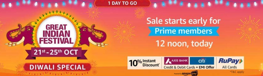 Amazon Great India Sale, Deals India