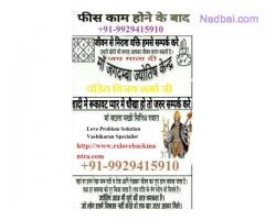 Love Problem Solution Specialist Babaji +91-9929415910