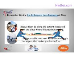 Lifeline Air Ambulance in Bagdogra Rescue in Two Classes at Cut-Rate