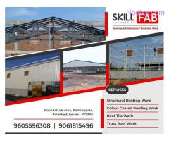 Best Industrial shed construction works in Palakkad Mannarkkad Shornur