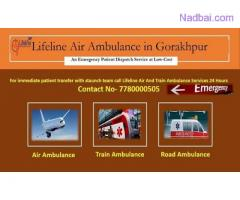 Lifeline Air Ambulance in Gorakhpur Reach the hospital With ICU Care