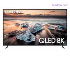 "Samsung QN65Q900RBFXZA Flat 65"" QLED 8K Q900 Series Smart TV"