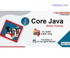 Core Java Online Training In Chennai  | NareshIT