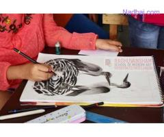 doodling art classes in west punjabi bagh