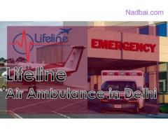 Lifeline Air Ambulance in Delhi is Equipped with ICU Amenities