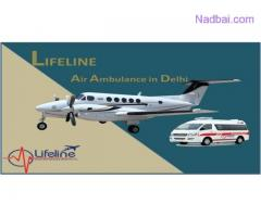 Lifeline Air Ambulance in Delhi Relies Within Your Budget