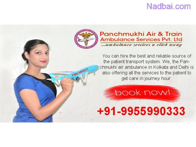Most Trusted Panchmukhi Air Ambulance in Delhi – Low-Cost