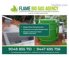 Leading Domestic Biogas Plant Manufacturers in Trivandrum Kollam Attingal