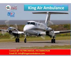 Emergency Medical King Air and Train Ambulance in Delhi