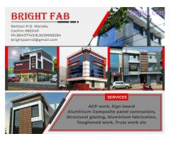 Aluminium Composite Panel Contractors Kochi Ernakulam Edapally Aluva