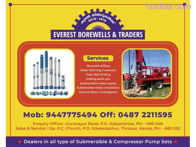 Best Borewell Contractors in Thrissur Chalakudy