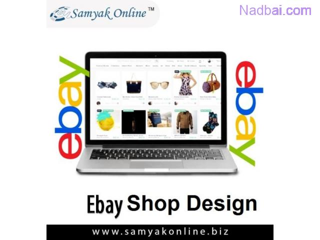 eBay Shop Design in New Delhi