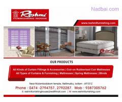 Best Curtains and furnishing works Kollam Kottarakkara Karunagappally Punalur