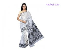 Buy premium quality handcrafted Gadwal Sarees online at Mirraw