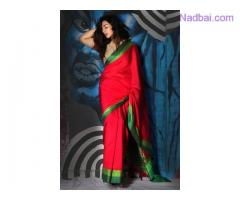 Buy Dupion Sarees for Special occasions online from Mirraw