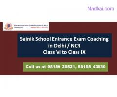 Sainik School Entrance Exam Coaching in Faridabad