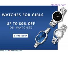 Hurry!! Up to 80% off on Women's Watches Techhark Offer Ends to Midnight