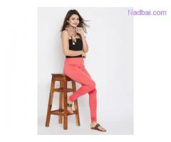 Shop Best Collections of Designer Plain Printed Leggings at Mirraw
