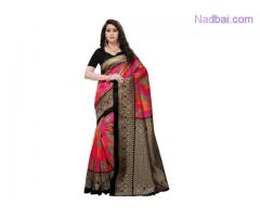 Buy premium quality of Art Silk Sarees from Mirraw