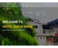 Hotels in Mussoorie | BOOK Mussoorie Hotels | Sun N Snow