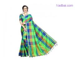 Flaunt your fashion statement with Green Sarees