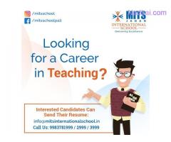 Apply latest Teacher Job for New Launching School in Pali, Rajasthan