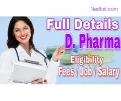 D. Pharma College in Delhi