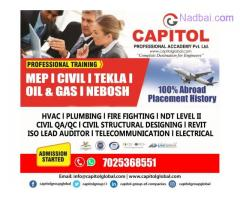 MEP, OIL &GAS,NEBOSH,Civil