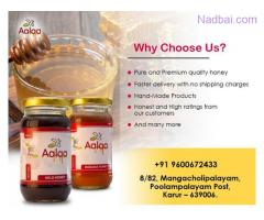 Fresh Wild Honey and Banana Honey For Sale - Aalaa Honey