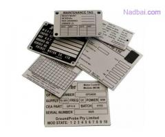 Nameplate Manufacturer - Bashyam Graphic