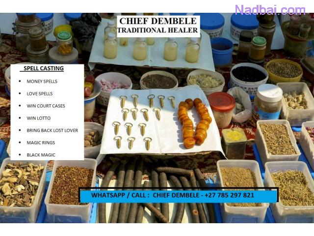 CHIEF DEMBELE TRADITIONAL HEALER  - CALL OR WHATSAPP. +27 785 297 821