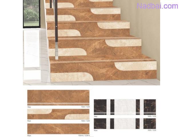 STEP RISER (Stair Tile) Top Tiles Manufacturer & Dealers | Or Ceramic