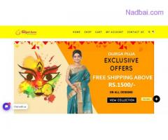 Bengali Saree Online is the best place to buy bengali tant sarees online