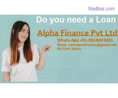 We help individuals and companies to obtain loan for business LN