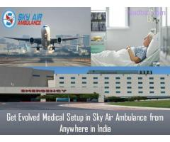 Choose Air Ambulance from Jamshedpur with Responsible Medical Team