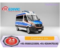 Take Authentic ICU Care by Medivic Ambulance Service in Bihta
