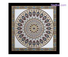 Digital Imported Ceramic Rangoli Tiles Wholesaler 1200 x 1200 Tile