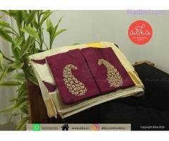 Online Onam Saree Sale Trivandrum