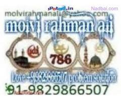 Vashikaran +91-9829866507 Black Magic Specialist Molvi JI