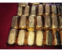 Gold Bars Dore ready up to 200KG