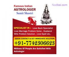 "INDIA""S FAMOUS ASTROLOGER SUMIT SHASTRI +91 7742306623"