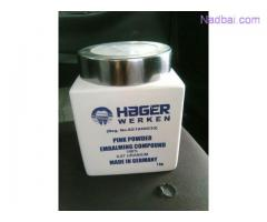Hager & Werken embalming products available in Johannesburg south Africa +27815723063