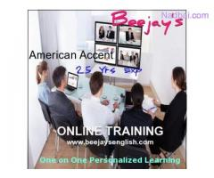 Learn Online American Accent with Intl Coach Beejay