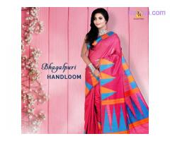 Shop for the best bengal Handloom sarees online at Banarasi Niketan