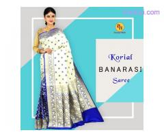 Get excellent quality Banarasi silk sarees online for special occasion
