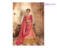 Mirraw Offering Silk Lehenga Choli At Best Prices