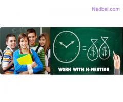 Data Entry Work from Home-Franchise offer-Part Time Work in Valsad K-Mention