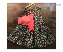 Visit Mirraw To Buy Floral Print Lehenga