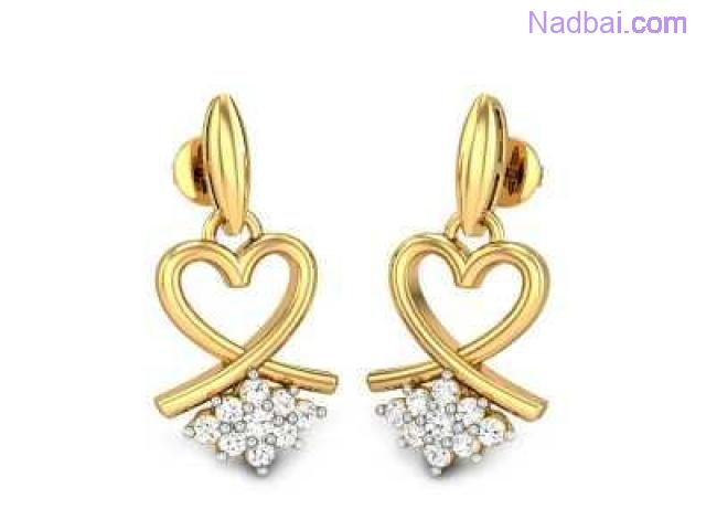 d7f8f6f38eb87 Visit Candere To Get Upto 15% Discount On Dangles Earrings Online ...