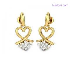 Visit Candere To Get Upto 15% Discount On Dangles Earrings Online